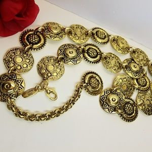 Vintage Metal Chain Belt
